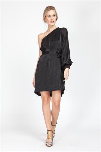 שמלת היידי שחורה