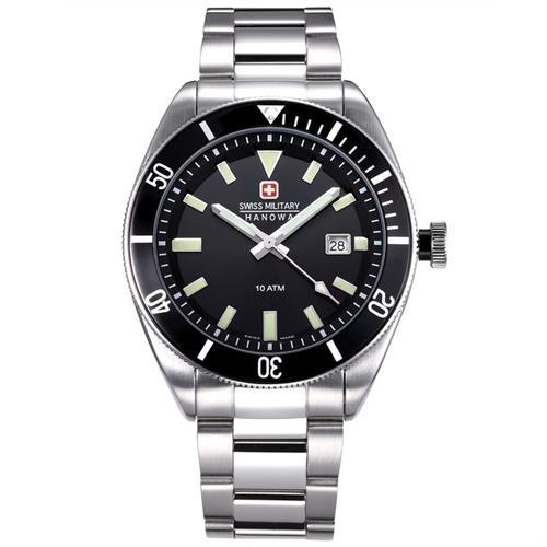 שעון יד אנלוגי גברים Swiss Military Hanowa 06-5214.04.007