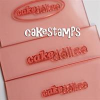 Three Different Personalized Logo Stamps