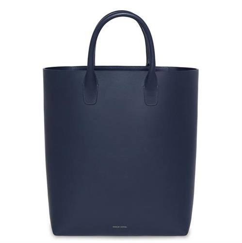 NORTH SOUTH TOTE CALF NAVY