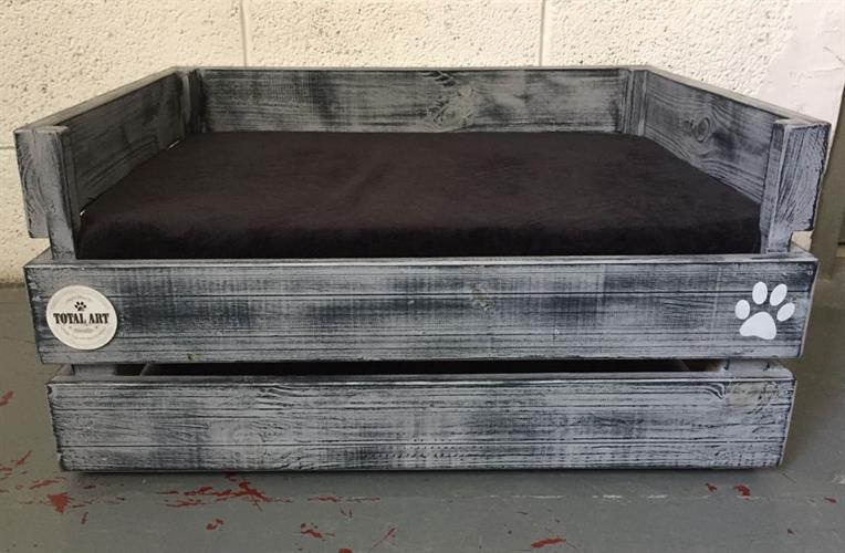 מיטה מדגם דינגו M - שחור אפור לולה