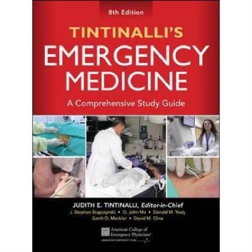 Tintinalli's Emergency Medicine: A Comprehensive Study Guide