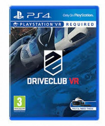 PS4 VR DRIVECLUB