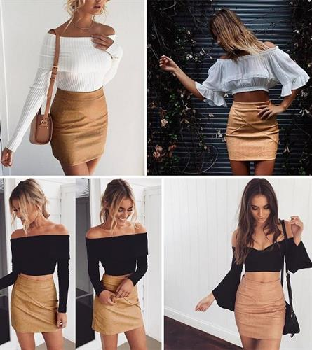 חצאית מעוצבת דגם פסקל