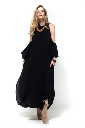 שמלת אאישה שחור