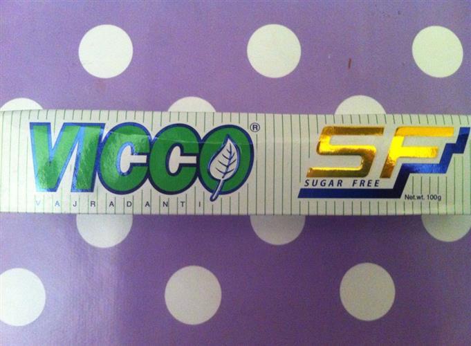 vicco משחת שיניים איורוודית -ללא סוכר-100גרם