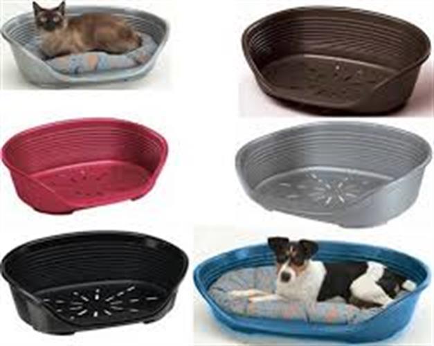 מיטת פלסטיק+מזרון דלוקס לכלב מידה 4 (20% הנחה ברכישת מיטה+מזרון)