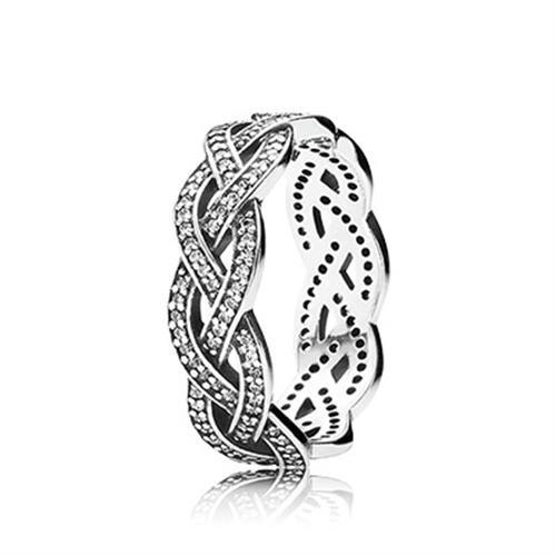 טבעת כסף פנדורה 190913CZ