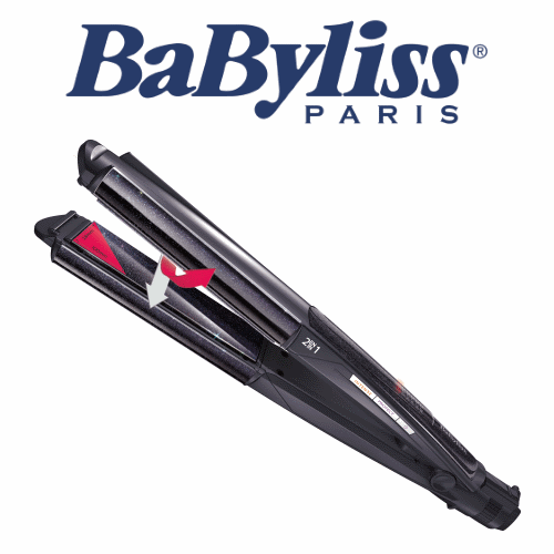 BaByliss מחליק ומסלסל שיער דגם: ST-330ILE