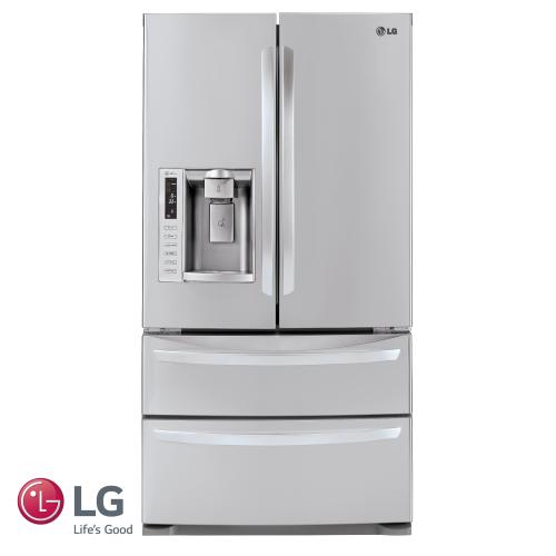 LG מקרר 4 דלתות EMPIER  דגם: GR-L28EMP מתצוגה!