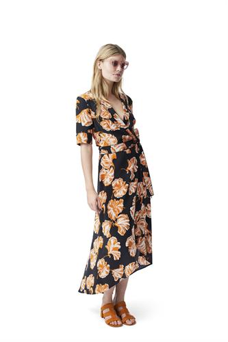 GEROUX WRAP DRESS