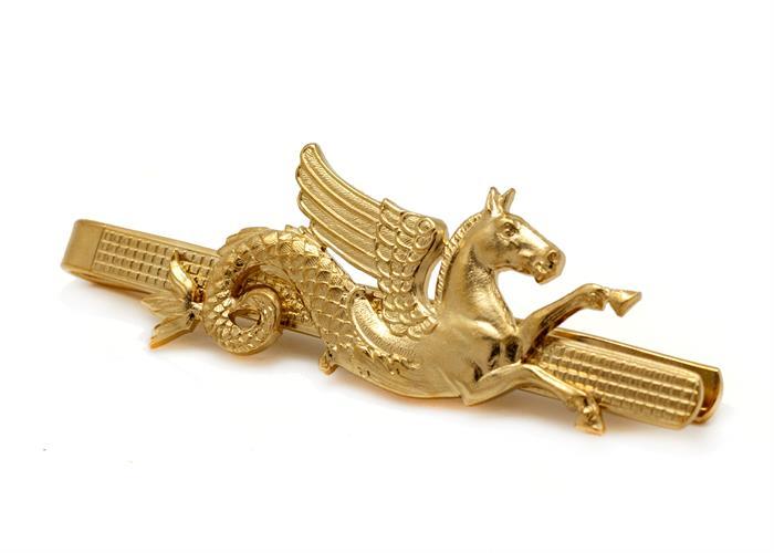 תפס לעניבה סוס מכושף זהב