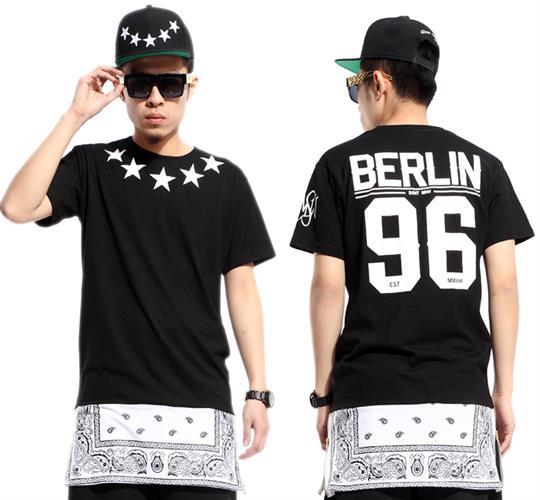 חולצה טוניק מעוצבת ברלין (צבע שחור)