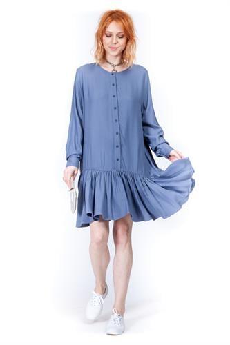 שמלה אמנדה כחול