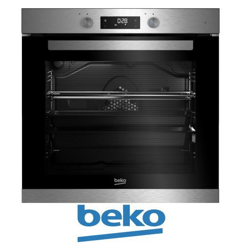תנור בנוי beko גדול במיוחד 75 ליטר דגם BIM-32300XMS מתצוגה !