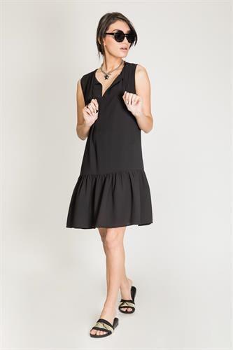 שמלת פלם שחור