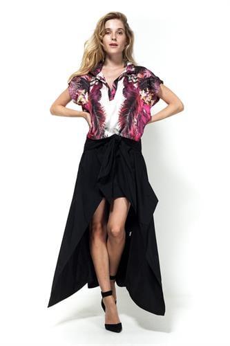 חצאית לאנה שחורה