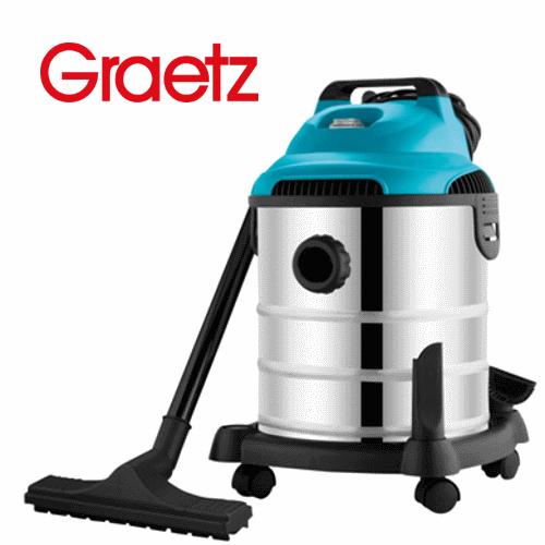 Graetz שואב אבק רטוב / יבש נירוסטה דגם: GR-629