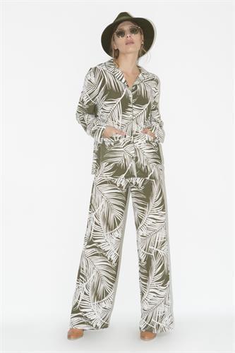 חליפת סנדרה ירוק