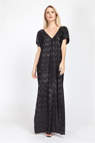שמלת ונסה שחורה