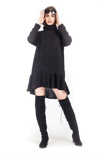 שמלה ג'ניס שחור