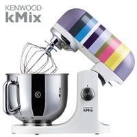 KENWOOD מיקסר kMix בסדרה צבעונית פסים + חבילת VIP דגם: KMX-80