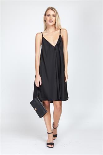 שמלת קלי שחורה