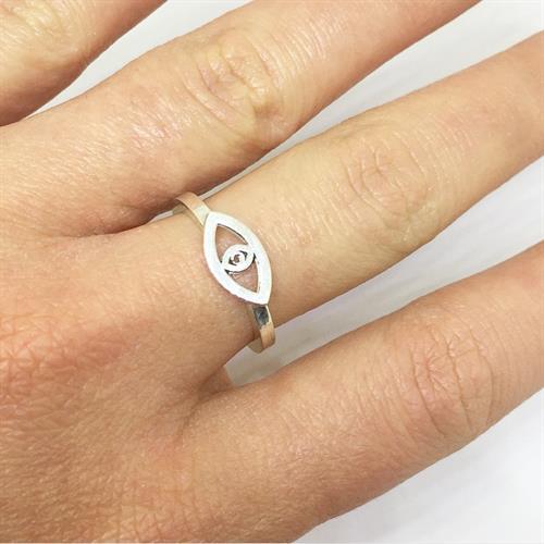 טבעת עייני כסף