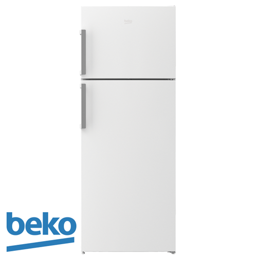 beko מקרר מקפיא עליון  דגם RDNE455K01W מתצוגה !