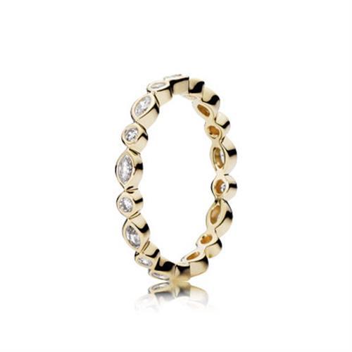 טבעת זהב פנדורה 150183CZ