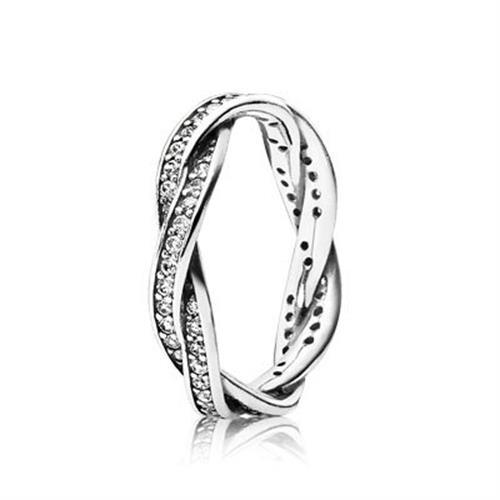 טבעת כסף פנדורה 190892CZ