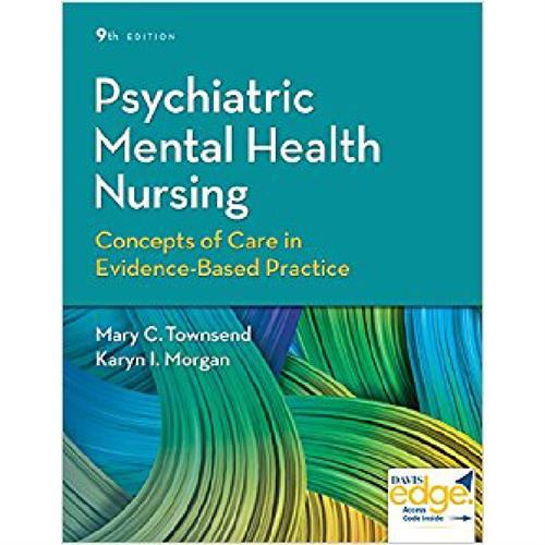 Psychiatric Mental Health Nursing 9e