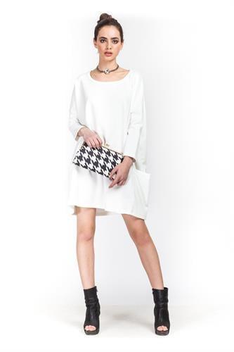 שמלה גארד לבן