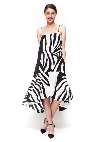שמלת ברוק זברה