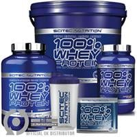 אבקת חלבון סייטק נוטרישיין Scitec Nutrition 100% Whey