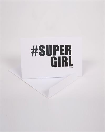 כרטיס ברכה Supergirl