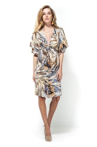 שמלת מוניקה טרופי סגול