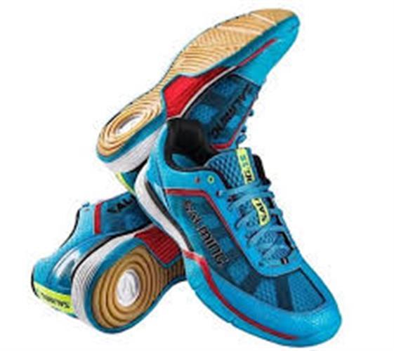 נעלי כדורשת SALMING light blue