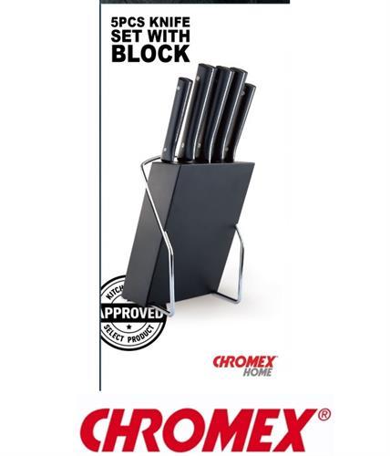 CHROMEX סט סכינים CH-362