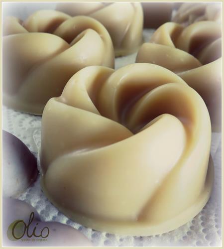 סבון פרח גדול בריח נפלא ורענן של נענע וגרניום