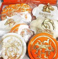 HERMES rounded stamp