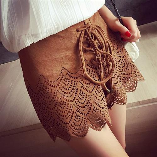 מכנס נשים מעוצב דגם אדריאנה (צבע חום)