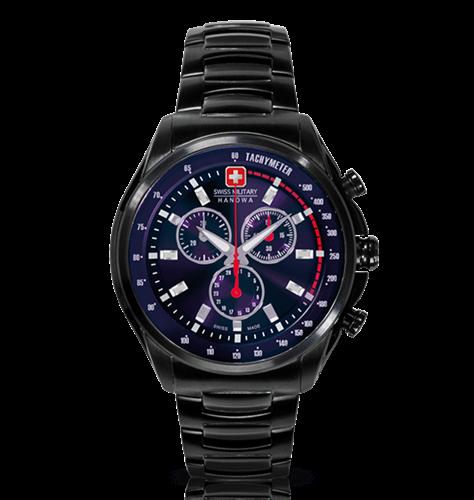 שעון יד אנלוגי גברים Swiss Military Hanowa 06-5171.13.013