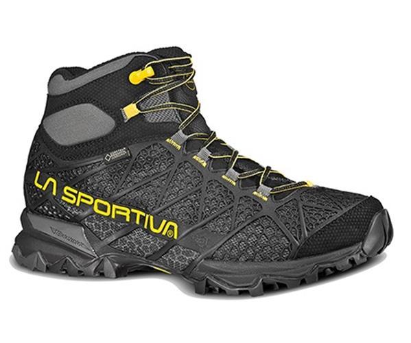 נעלי טיולים לגבר צהוב- שחור  La Sportiva Core Gtx
