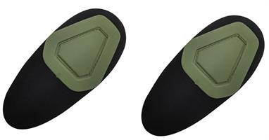 מרפקיות מיגון  מגני מרפק לחולצת לחימה טקטית  צבע ירוק Ranger Green