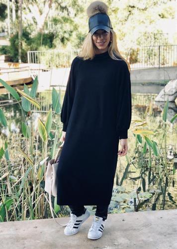 שמלת רבקה שחורה
