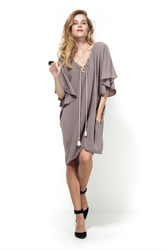 שמלת ג'יפסי בז'