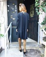 שמלת סיארה שחורה