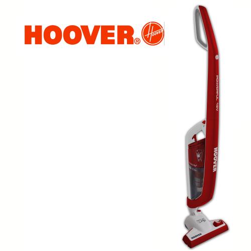 HOOVER שואב אבק נטען משולב מטאטא חשמלי 2 ב-1 דגם: FJ-120RW2-011 מתצוגה !