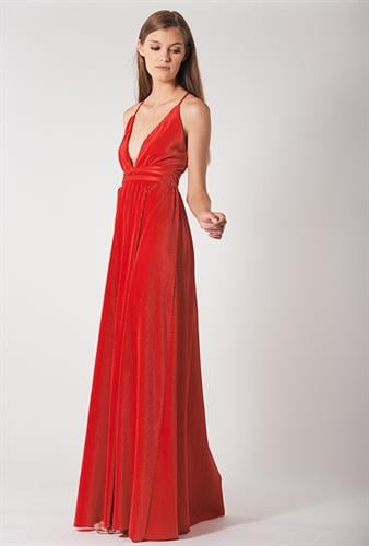 שמלת אנג'ל אדום